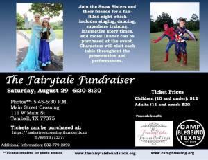 fairytale fundraiser